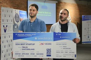 Tech Startup STYX Wins Seedstars Tbilisi 2018